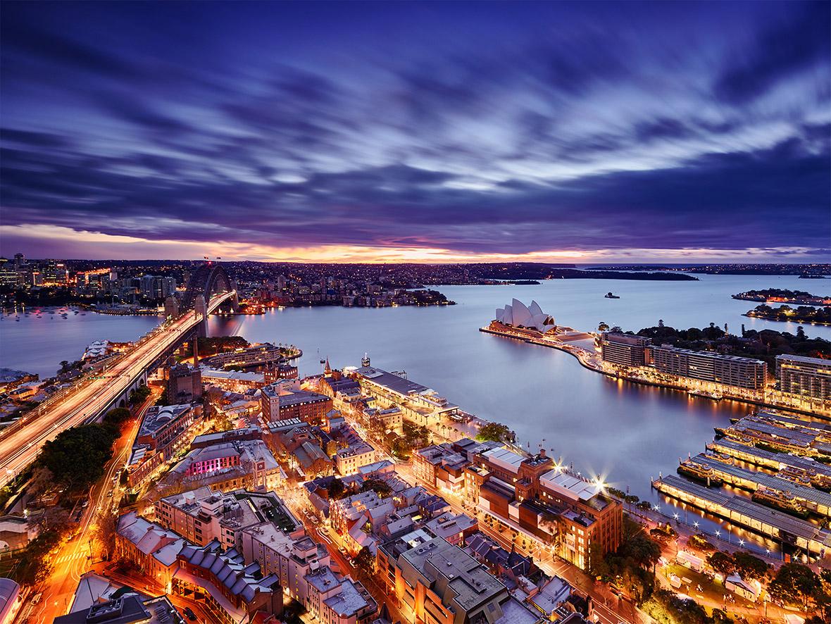 Города в ночи