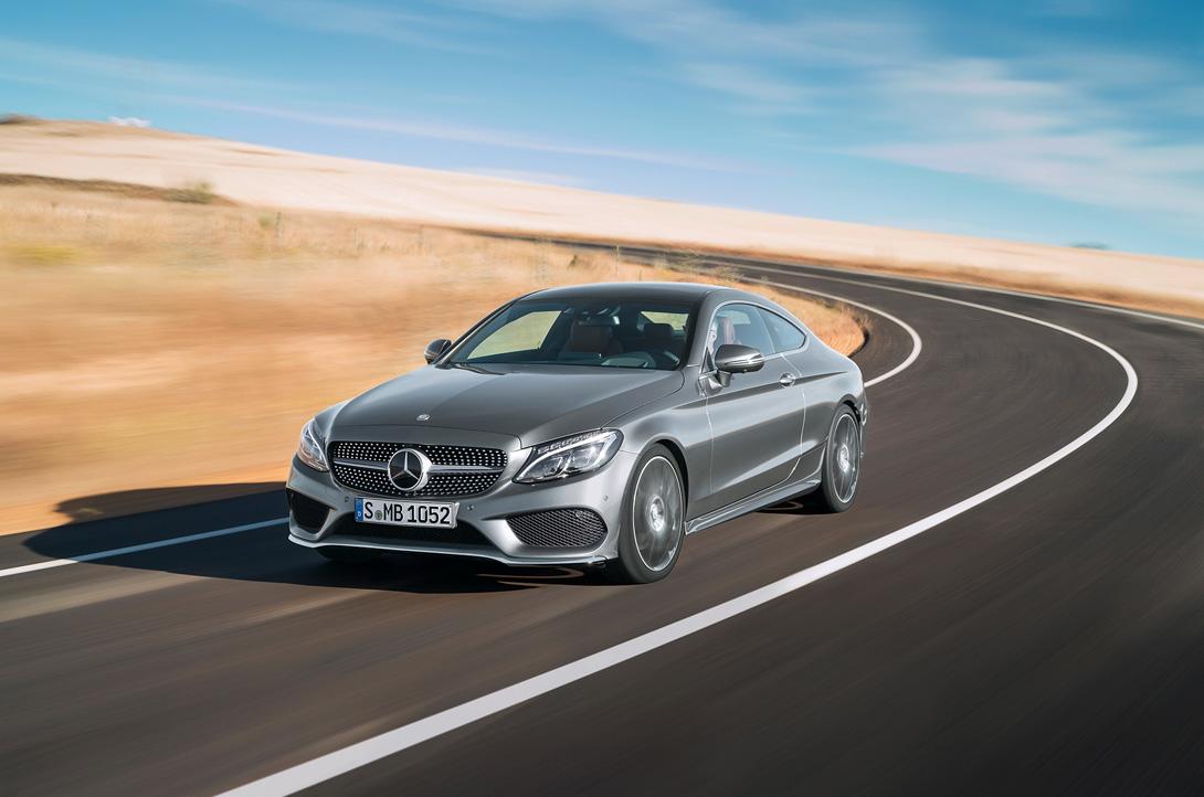 Новое купе Mercedes-Benz C-класса