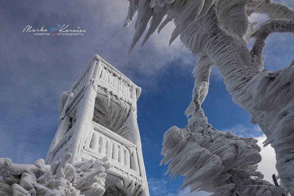 Глобальное оледенение в фотопроекте Марко Корозеку