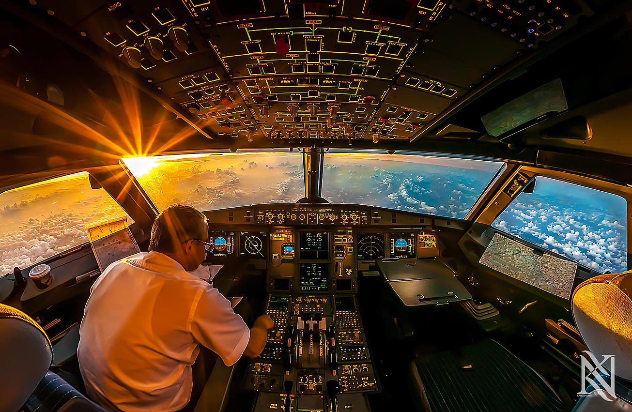 Airline Pilot Took Stunning Photos_01
