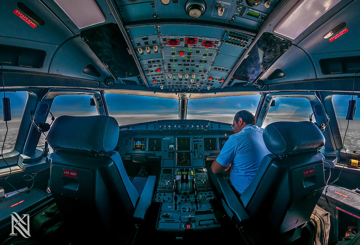 Airline Pilot Took Stunning Photos_19