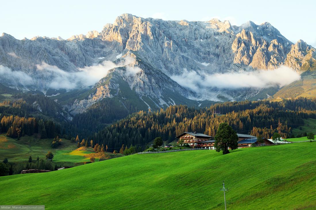 Австрия: в гостях у Баварии