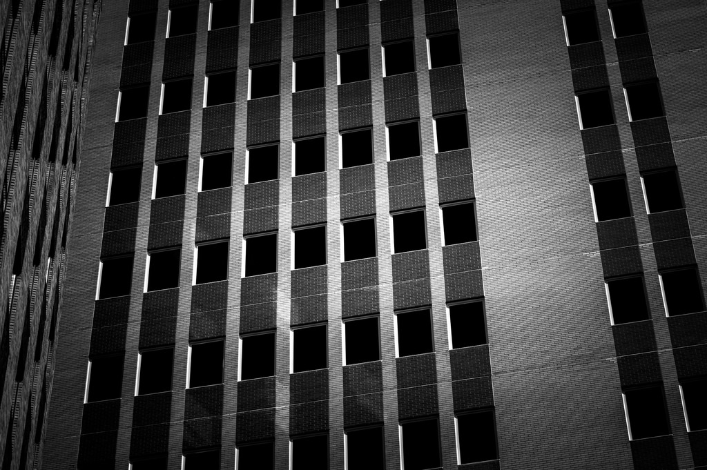 Black and white architecture_21