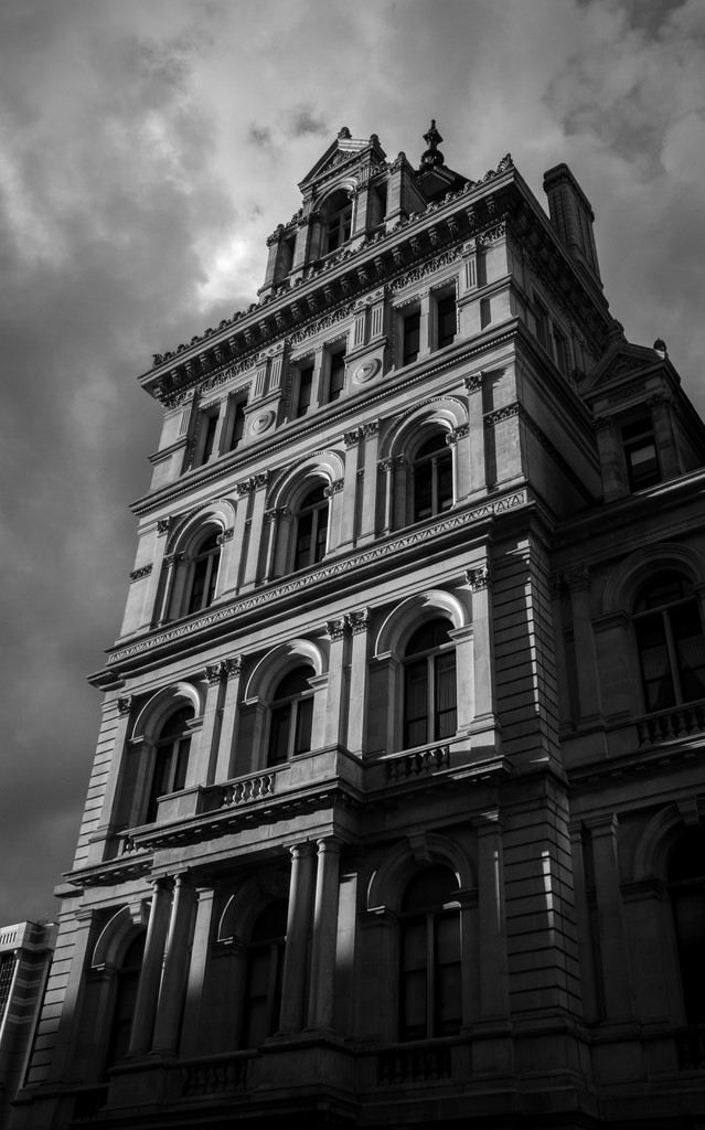 Black and white architecture_28