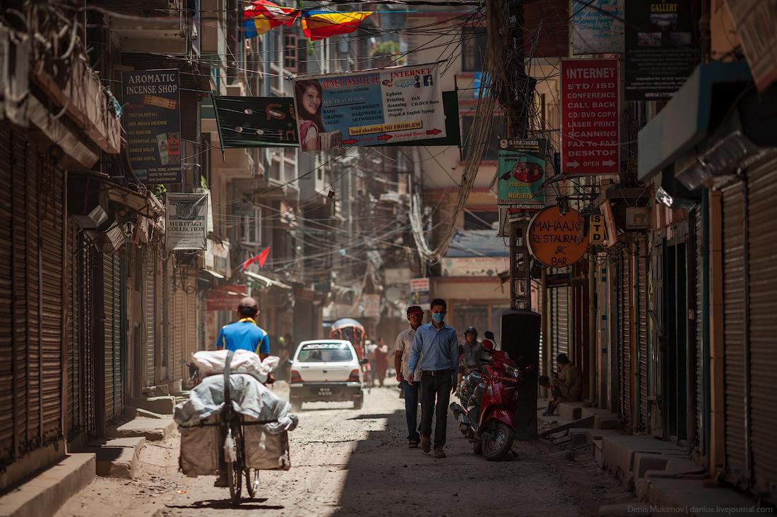 Kathmandu. The streets and shrines_12