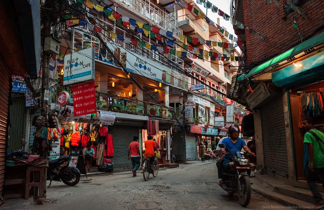 Kathmandu. The streets and shrines_24