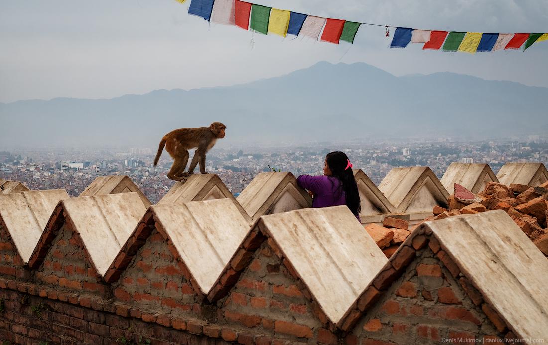 Kathmandu. The streets and shrines_29