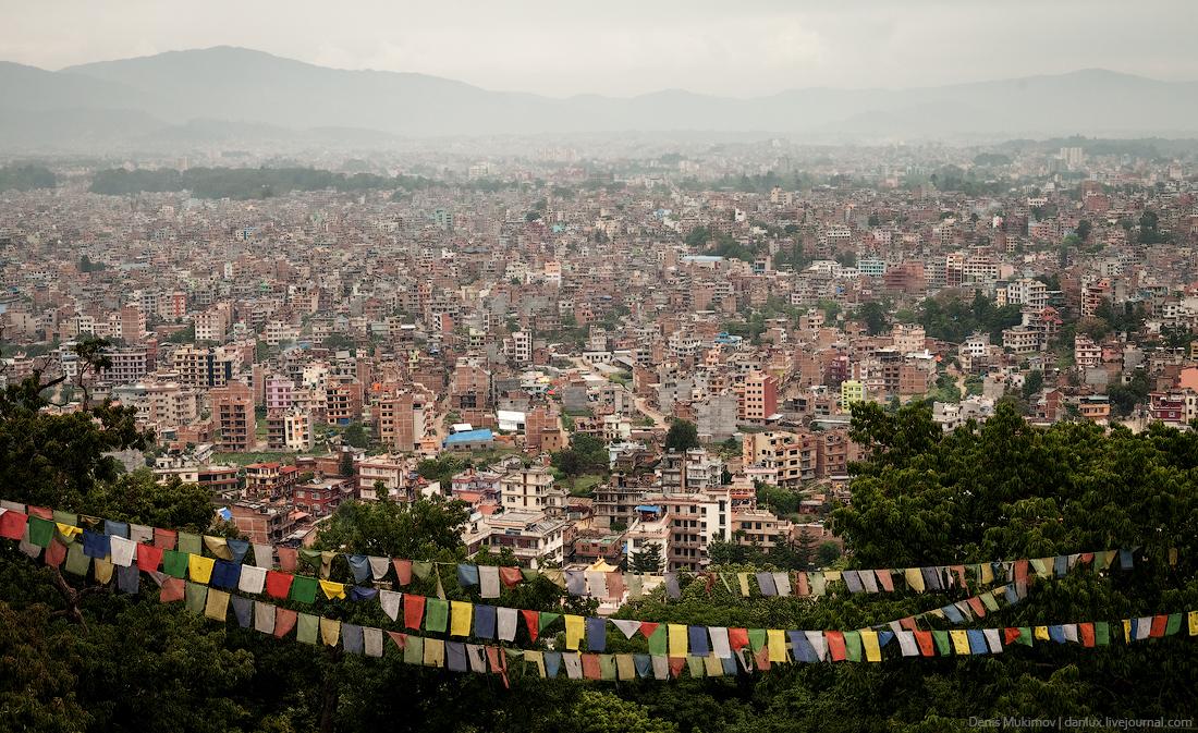 Kathmandu. The streets and shrines_30