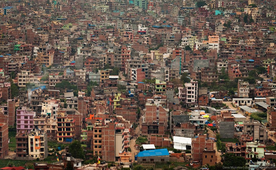 Kathmandu. The streets and shrines_31