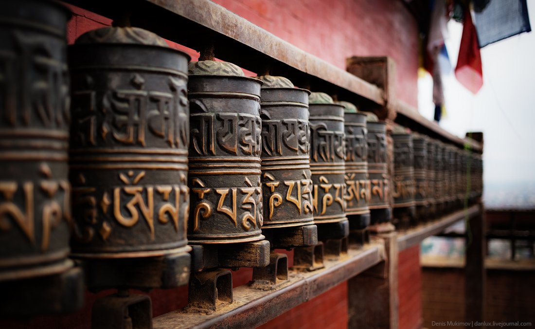 Kathmandu. The streets and shrines_34