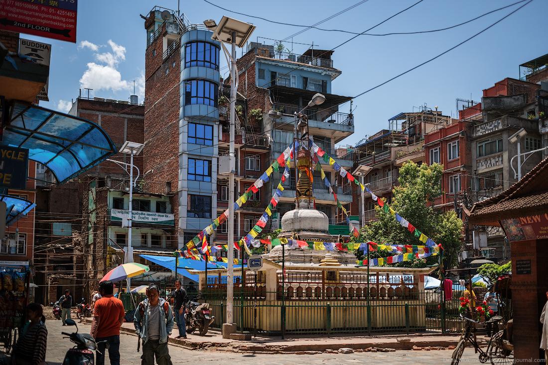 Kathmandu. The streets and shrines_35