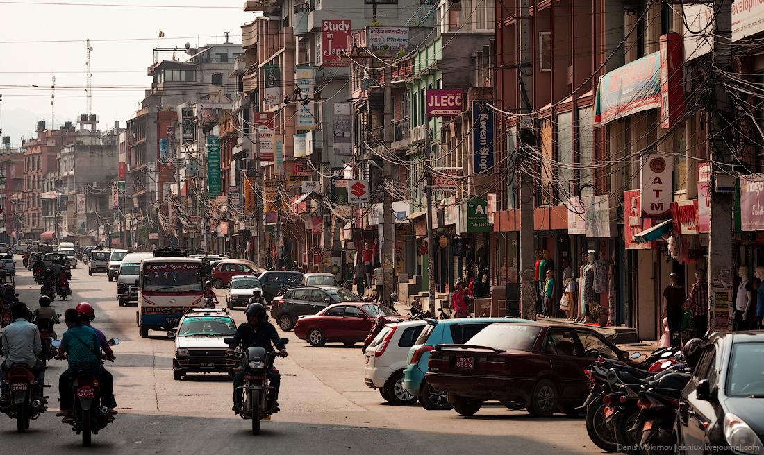 Kathmandu. The streets and shrines_38
