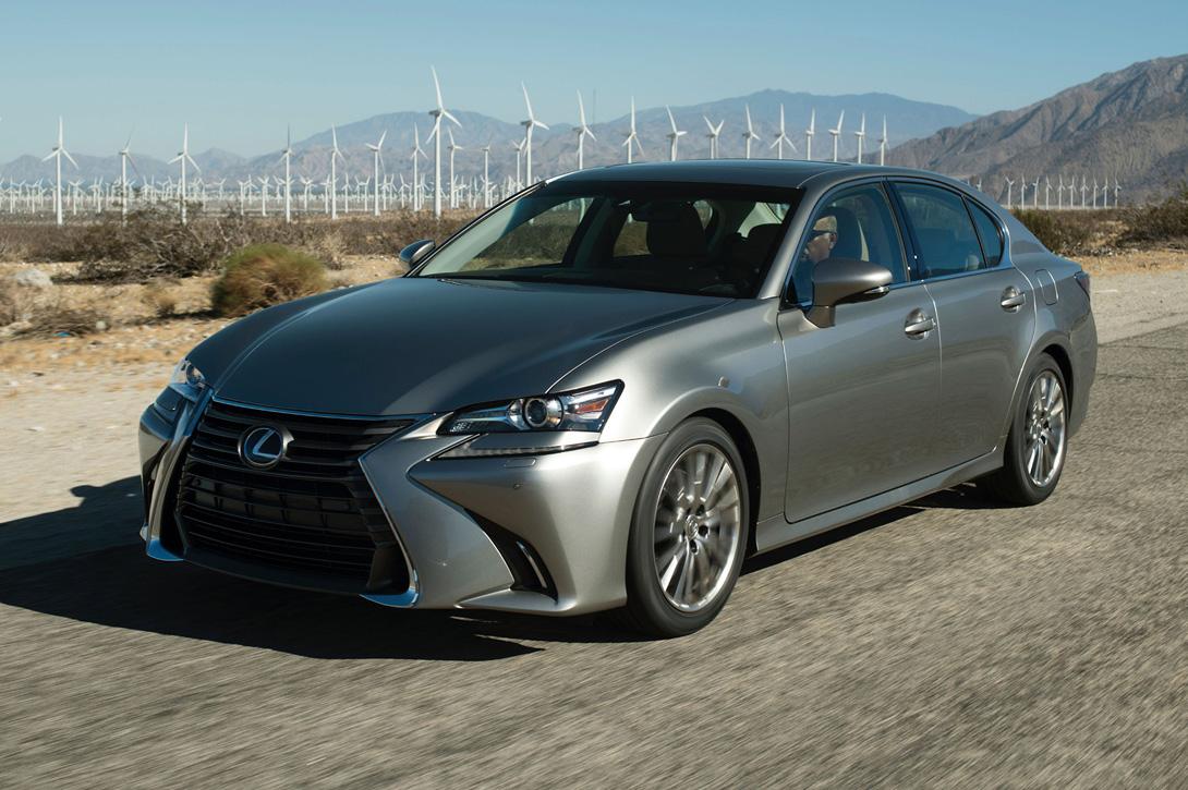 Lexus GS — рестайлинговый седан