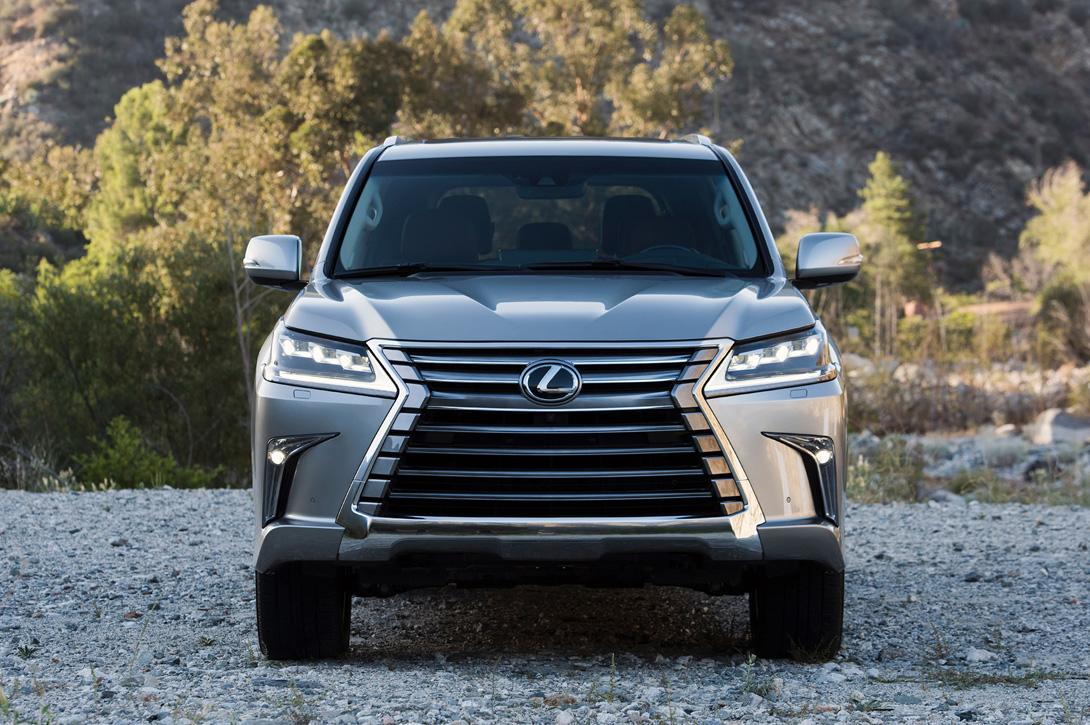 Lexus LX — элегантный внедорожник