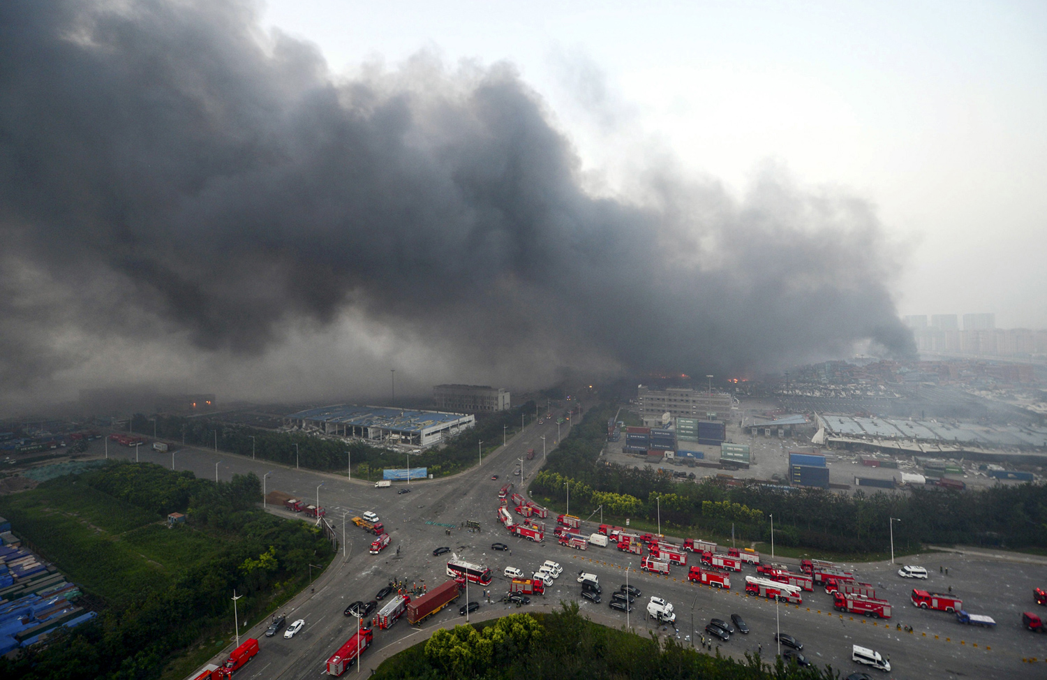 Massive Explosions in Tianjin, China_07