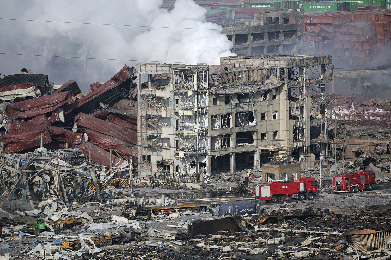 Massive Explosions in Tianjin, China_19