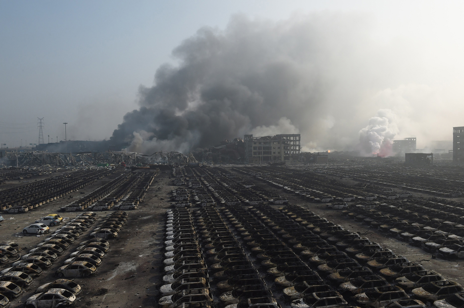 Massive Explosions in Tianjin, China_25