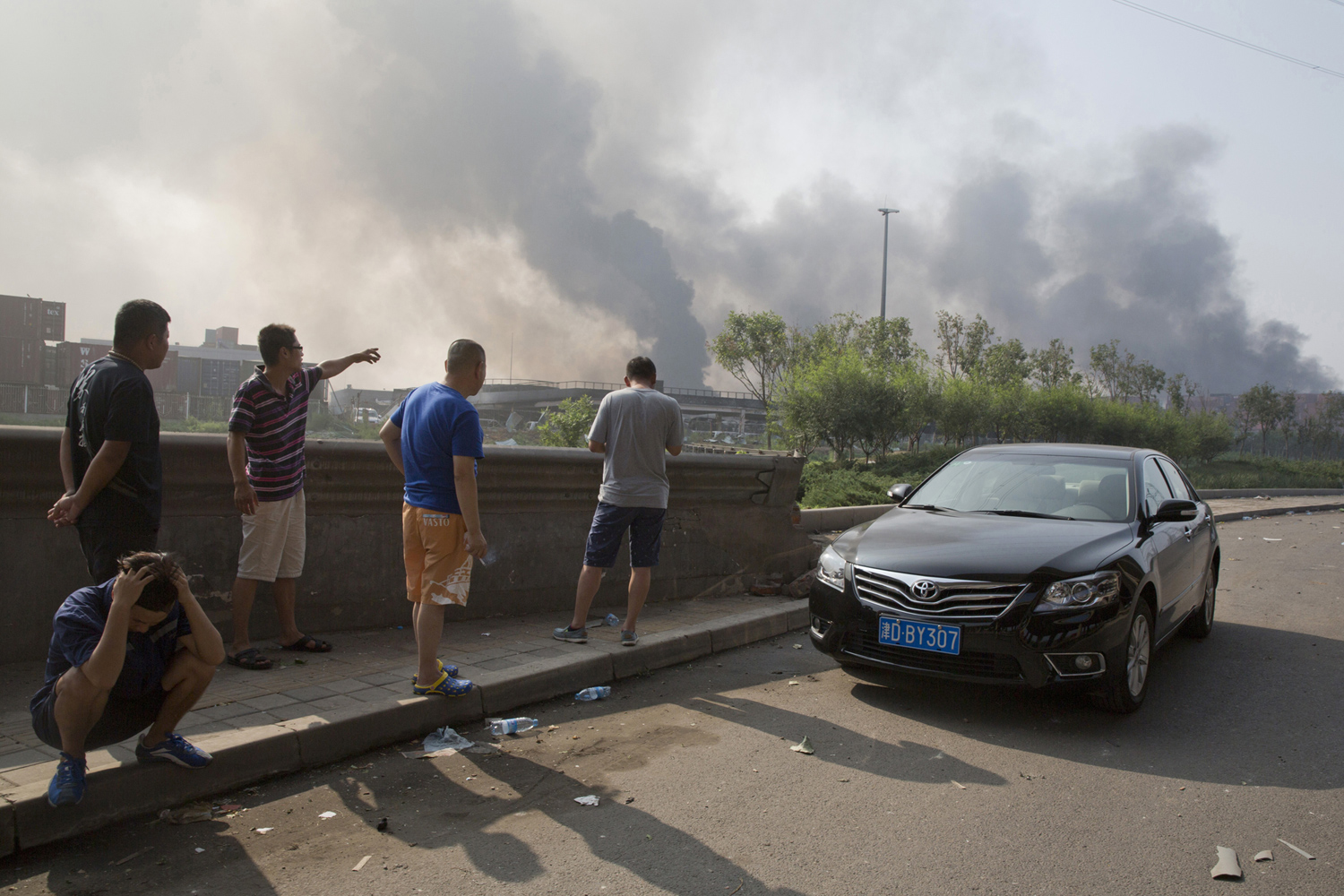 Massive Explosions in Tianjin, China_29