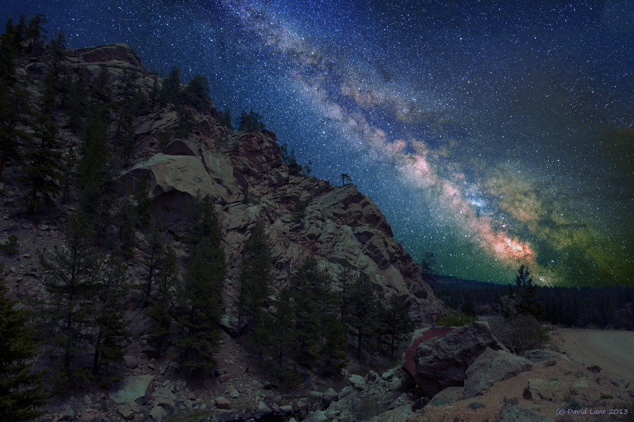 Milky way from Yellowstone Park-02