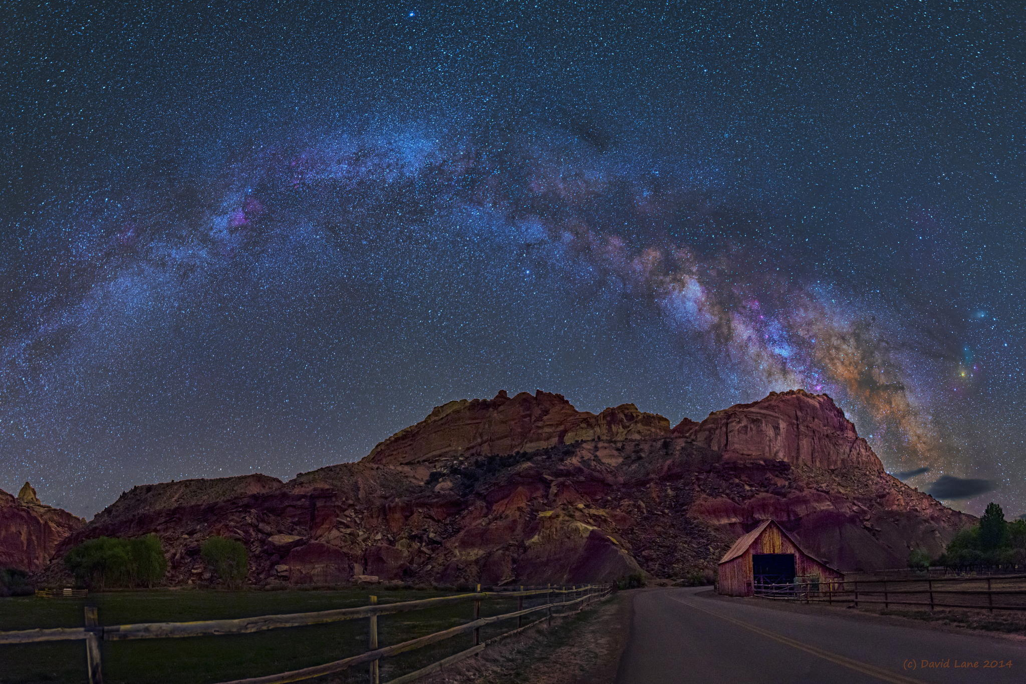 Milky way from Yellowstone Park-05