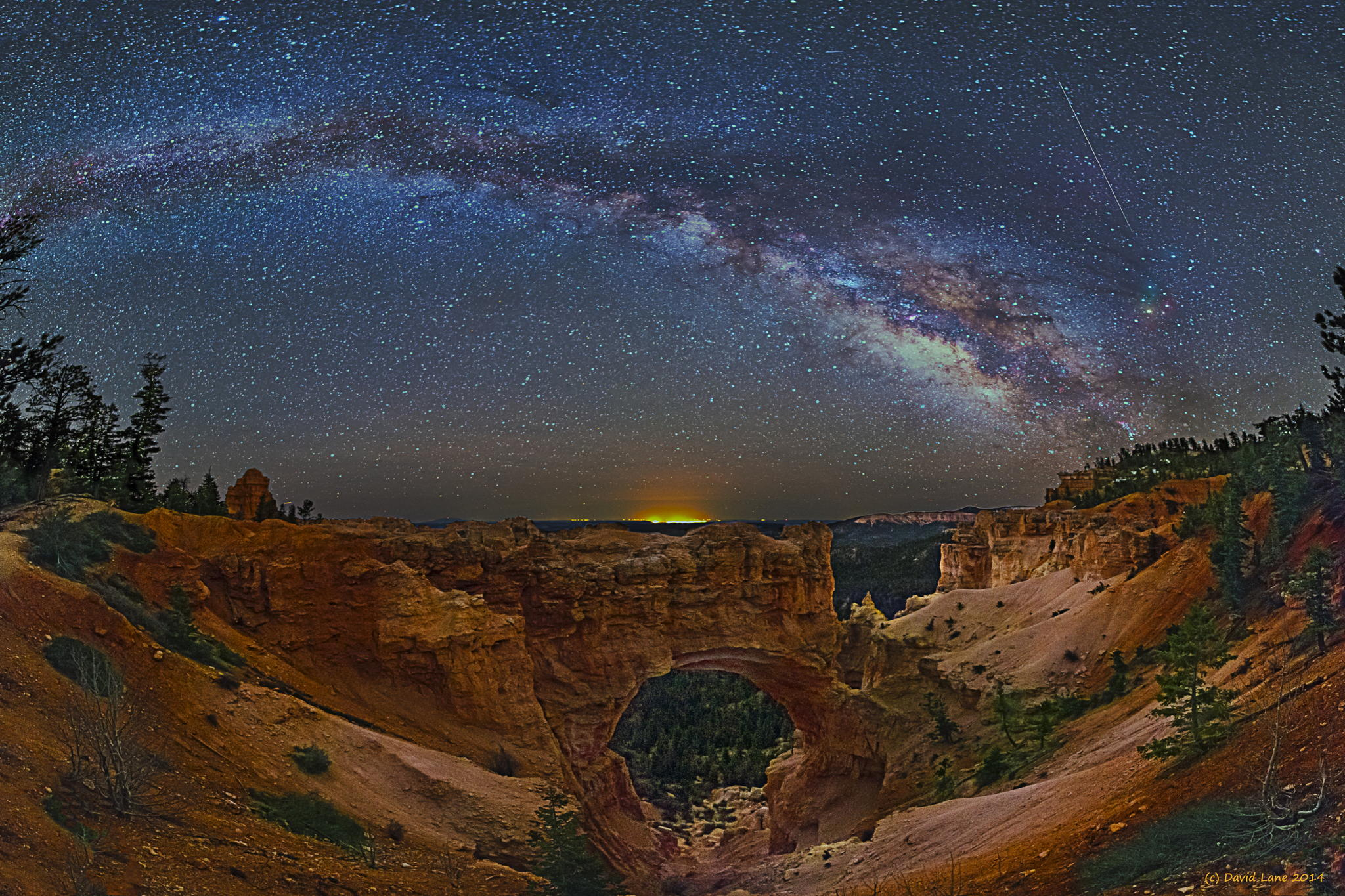 Milky way from Yellowstone Park-06