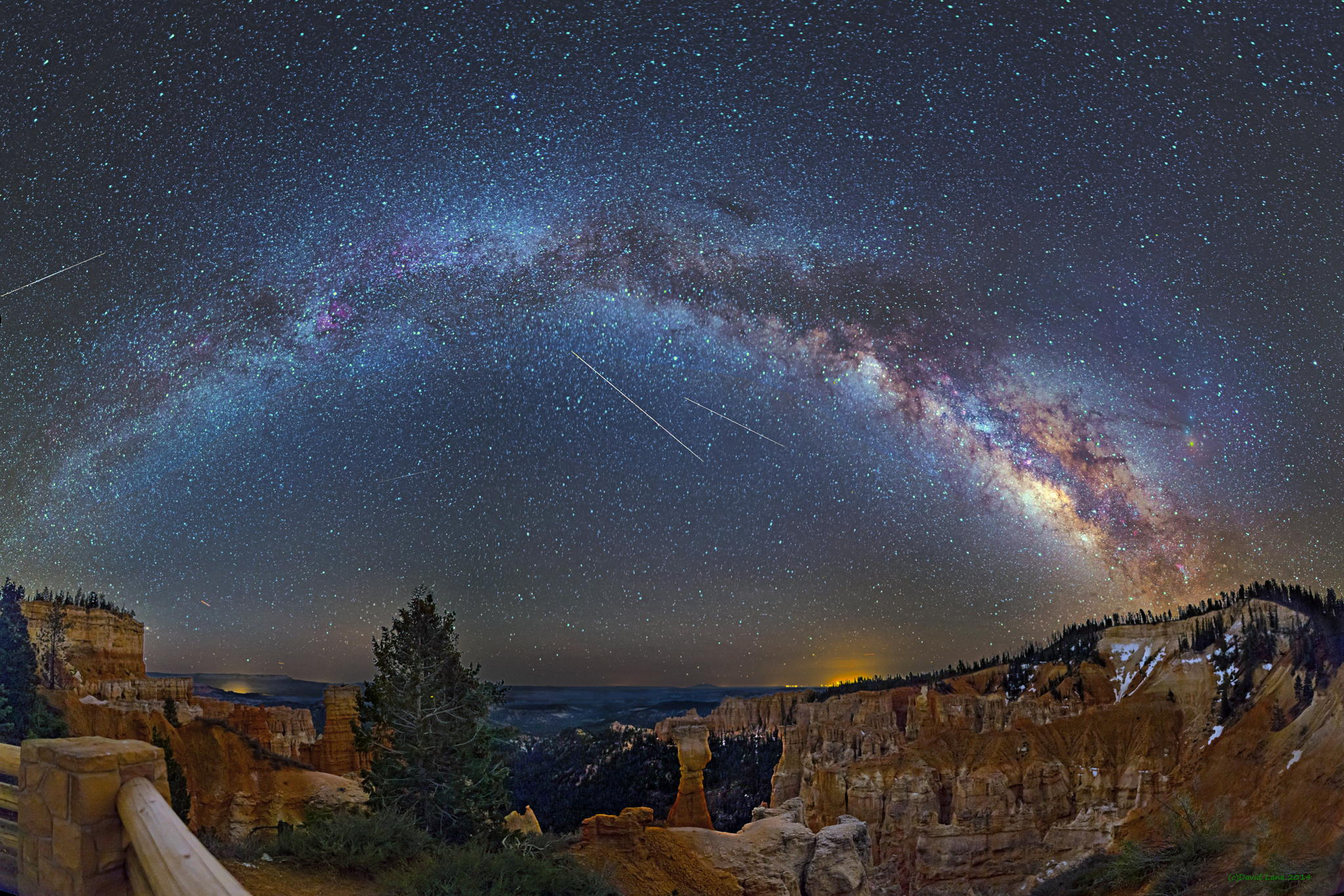 Milky way from Yellowstone Park-07