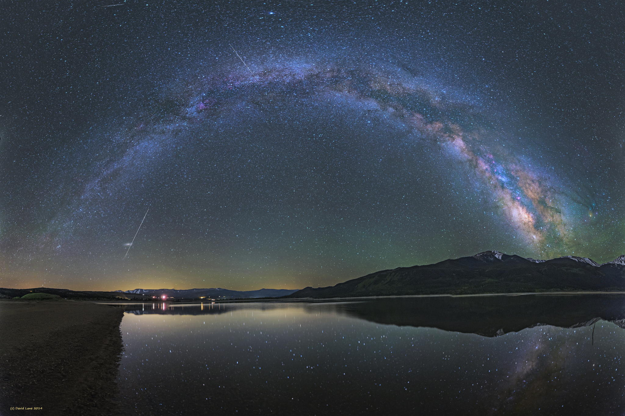 Milky way from Yellowstone Park-09