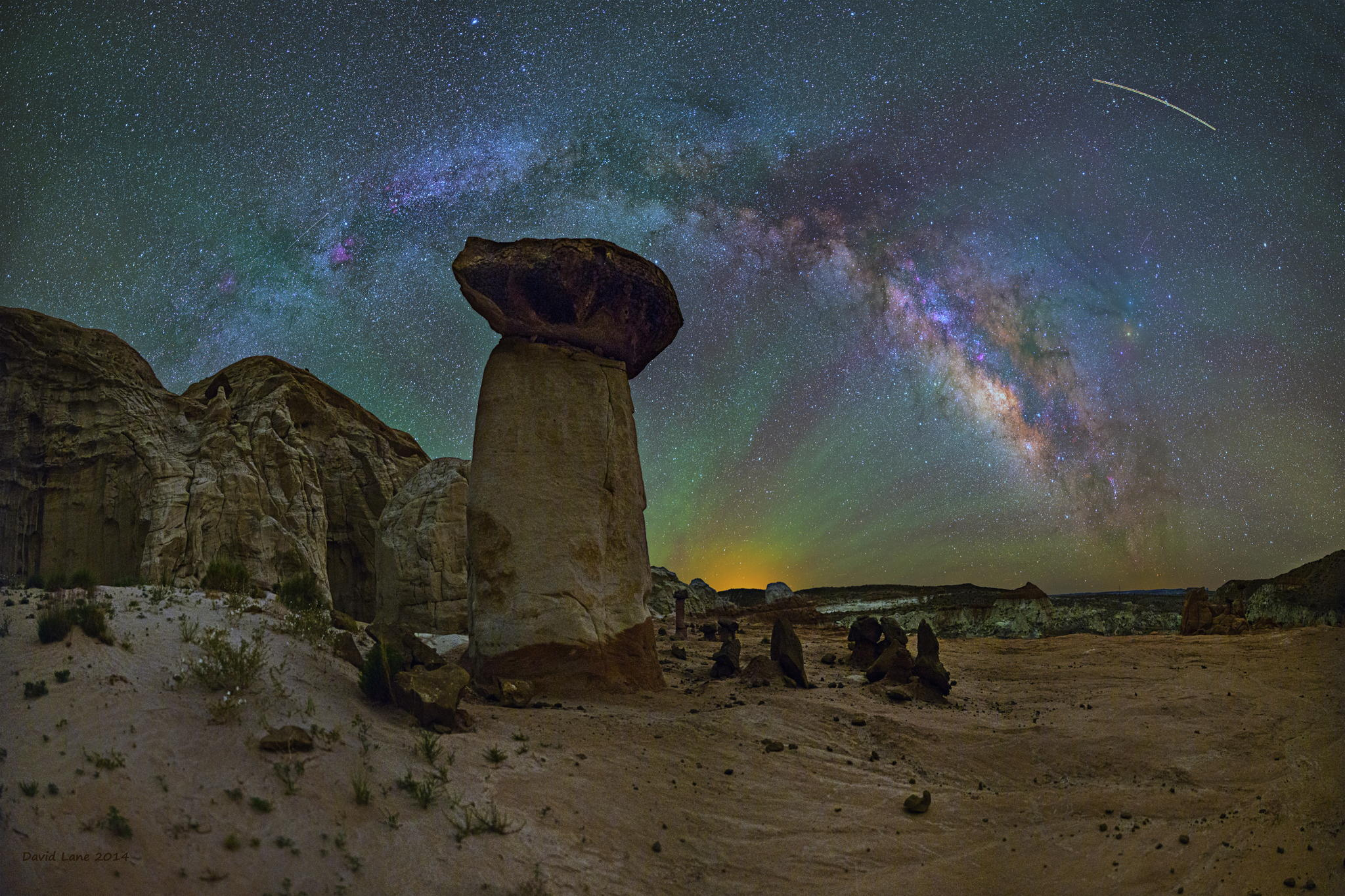 Milky way from Yellowstone Park-10