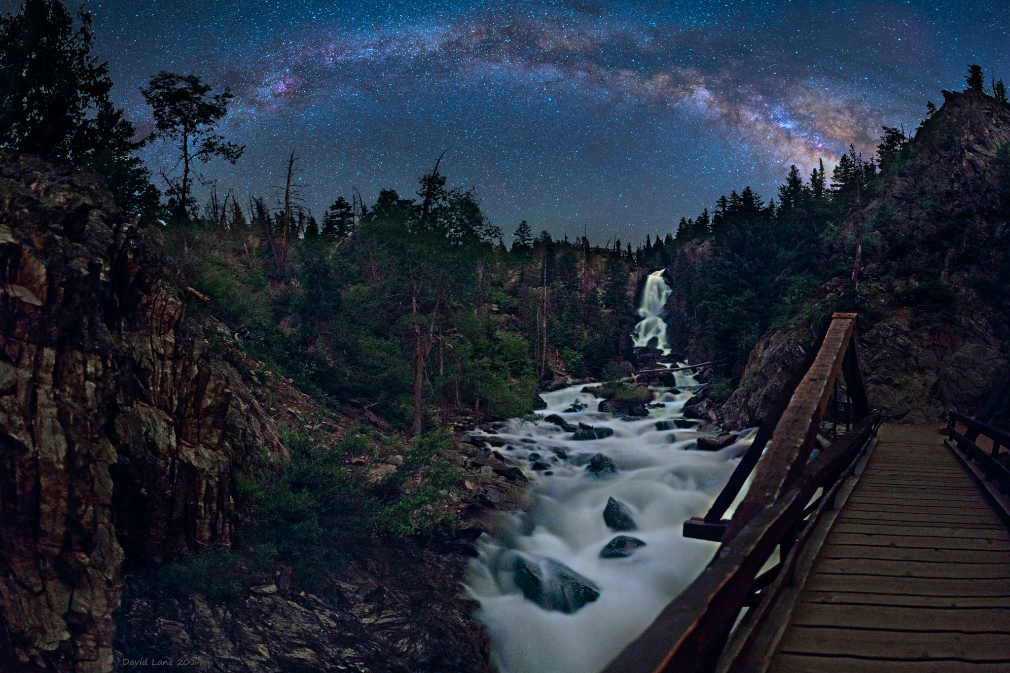 Milky way from Yellowstone Park-11