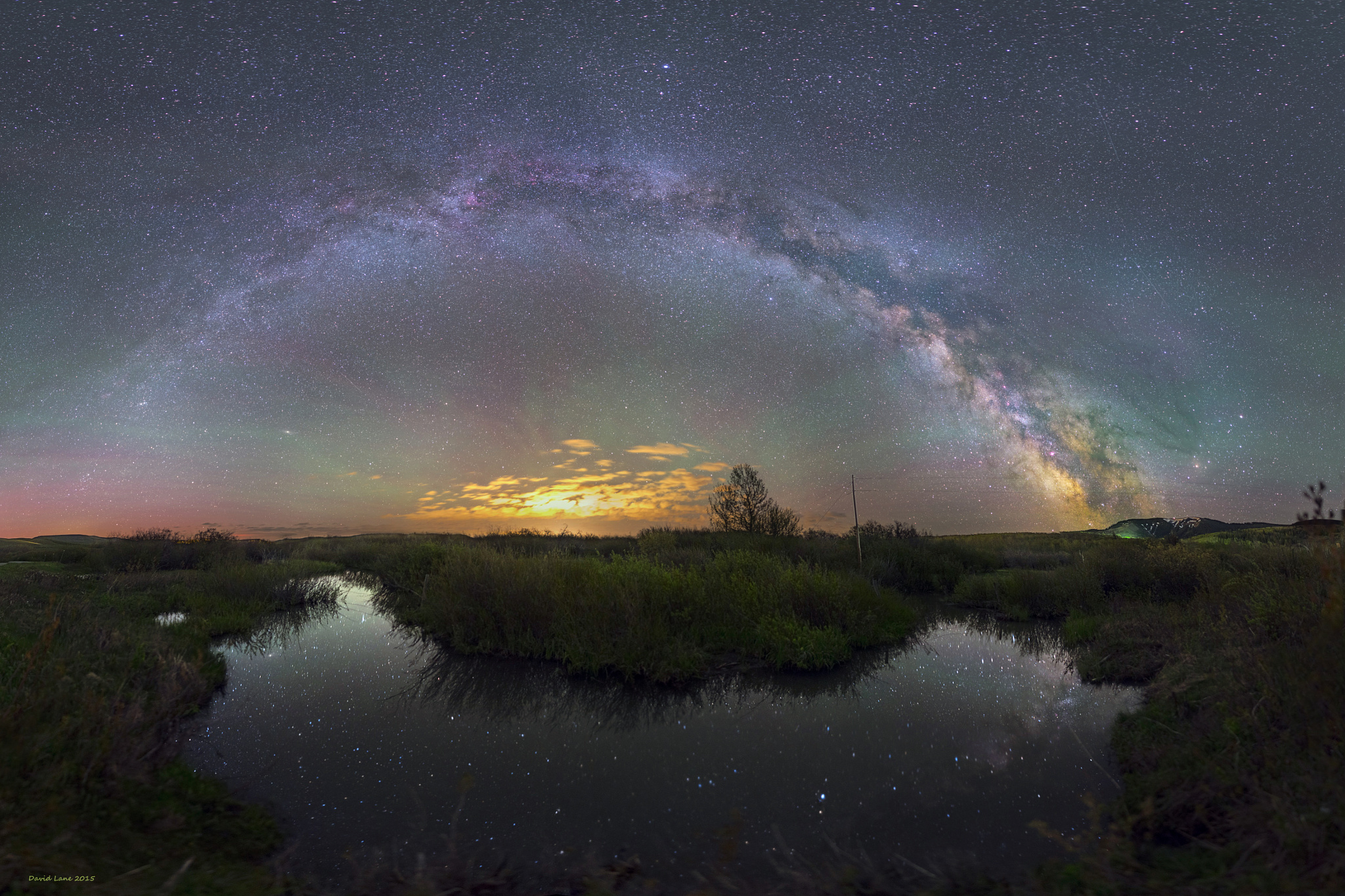 Milky way from Yellowstone Park-13