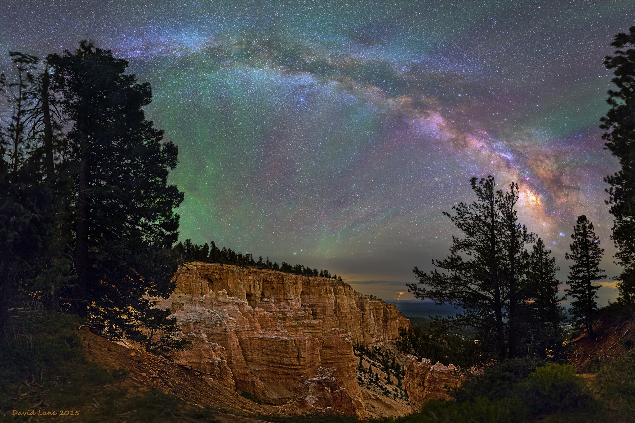 Milky way from Yellowstone Park-14