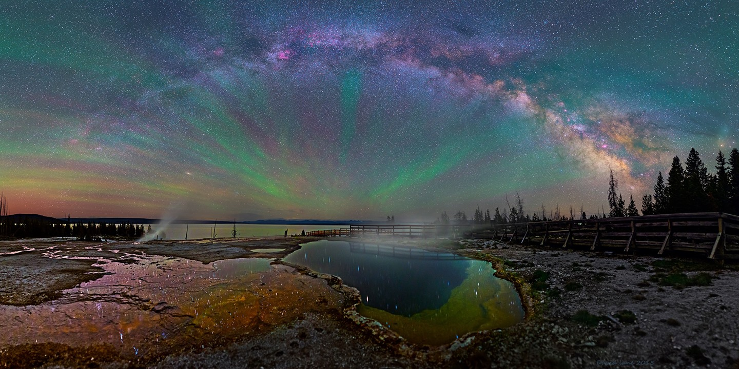 Milky way from Yellowstone Park-23