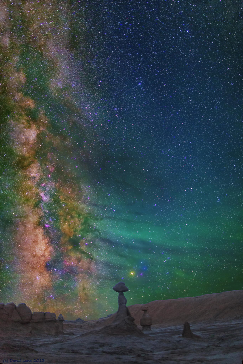 Milky way from Yellowstone Park-33