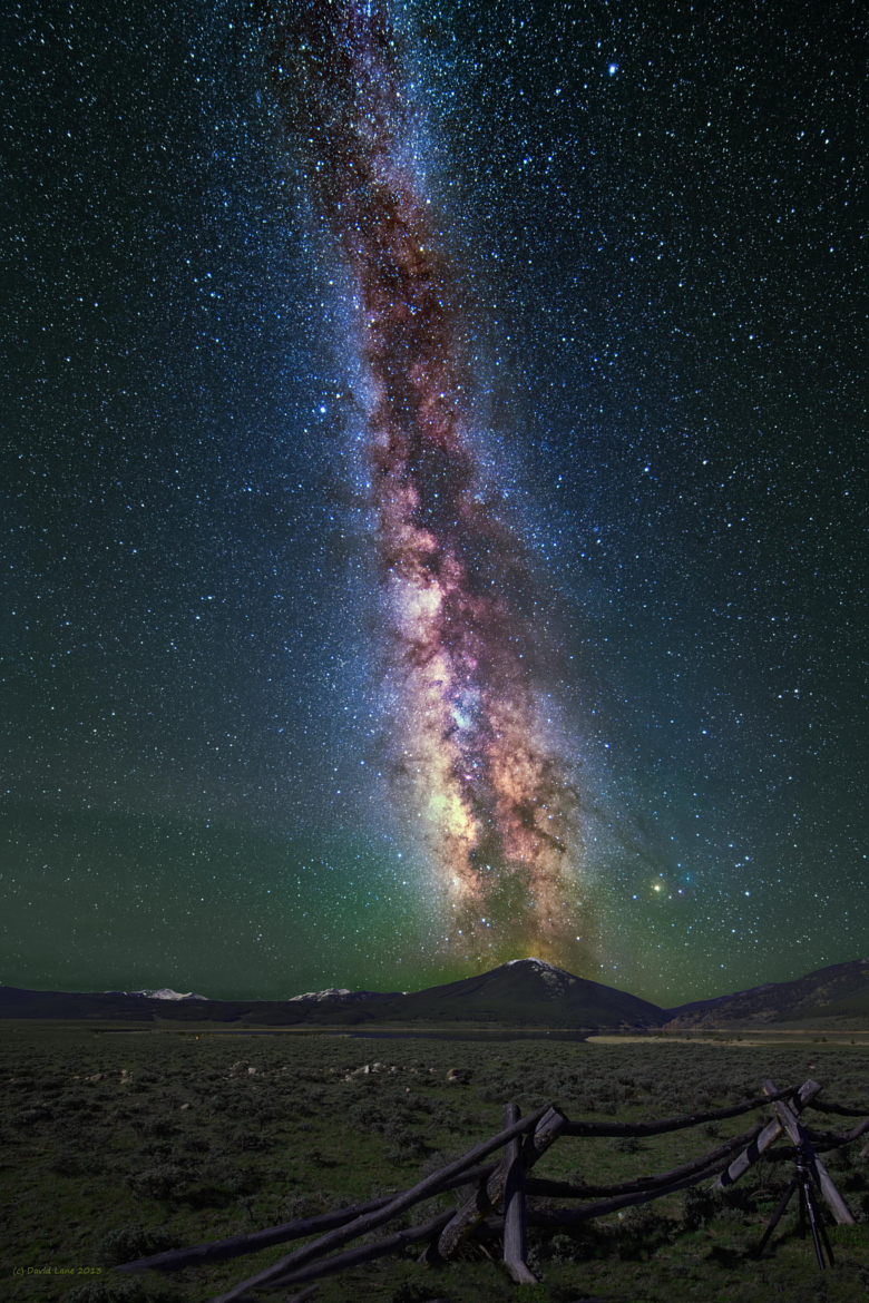 Milky way from Yellowstone Park-34