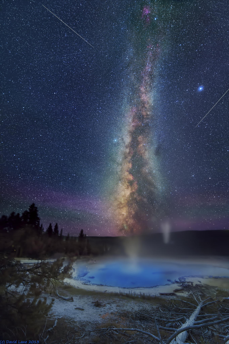 Milky way from Yellowstone Park-36