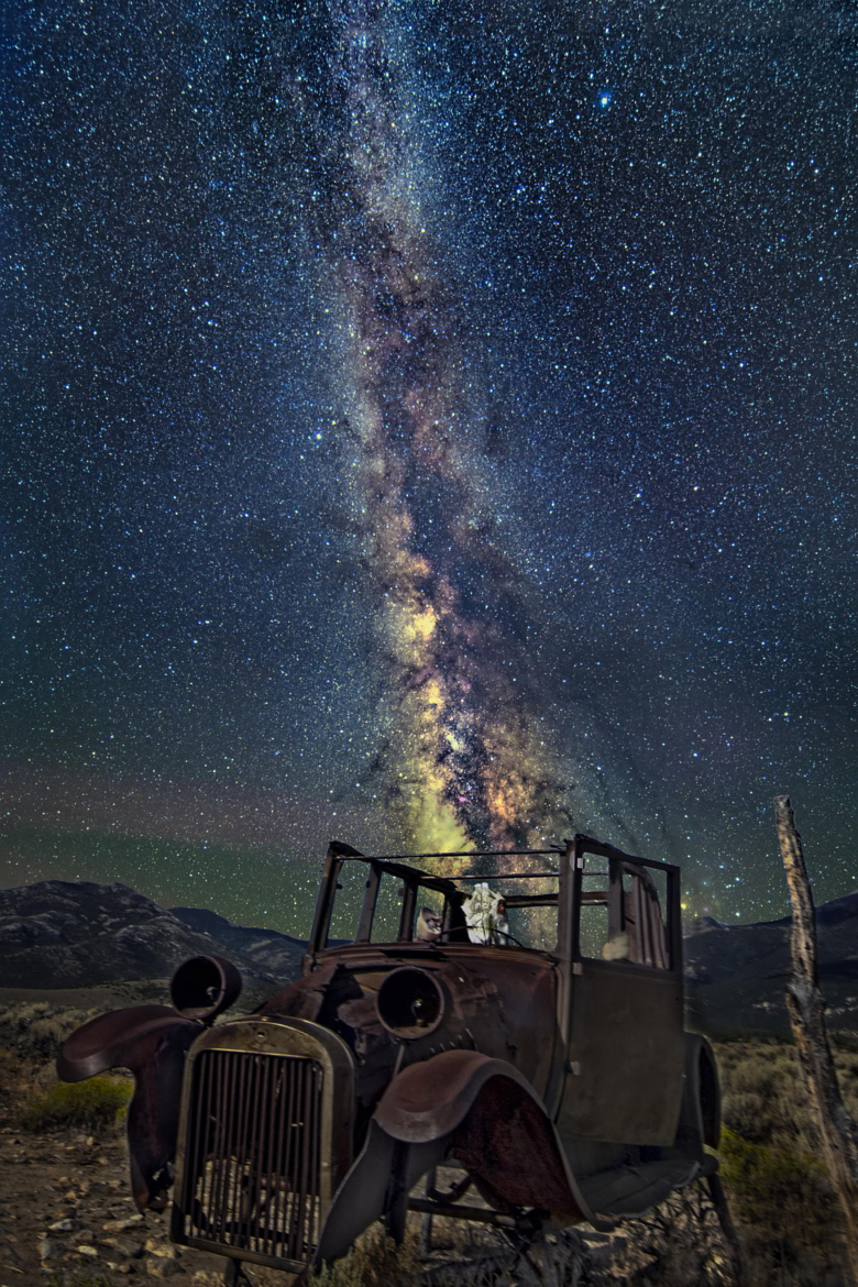 Milky way from Yellowstone Park-38