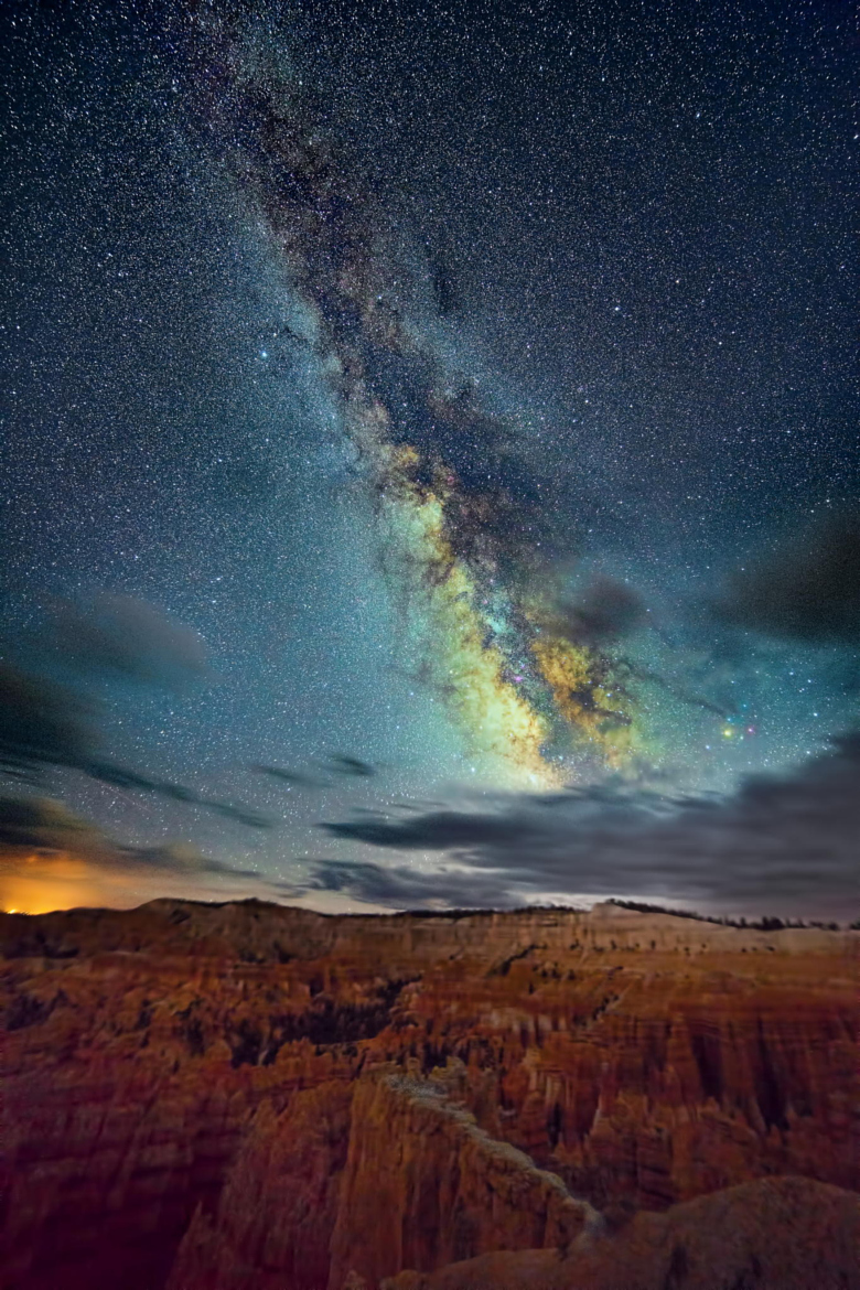 Milky way from Yellowstone Park-42