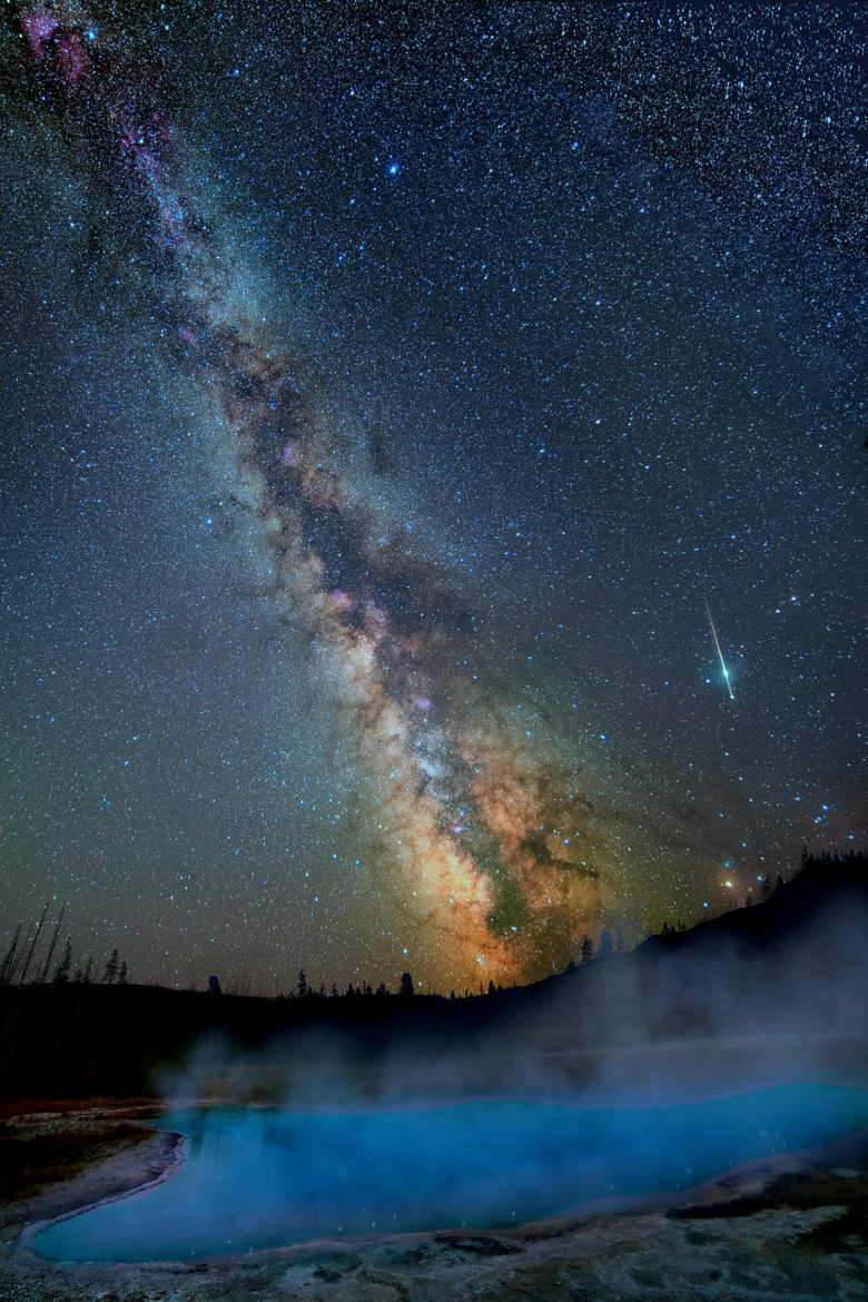 Milky way from Yellowstone Park-43