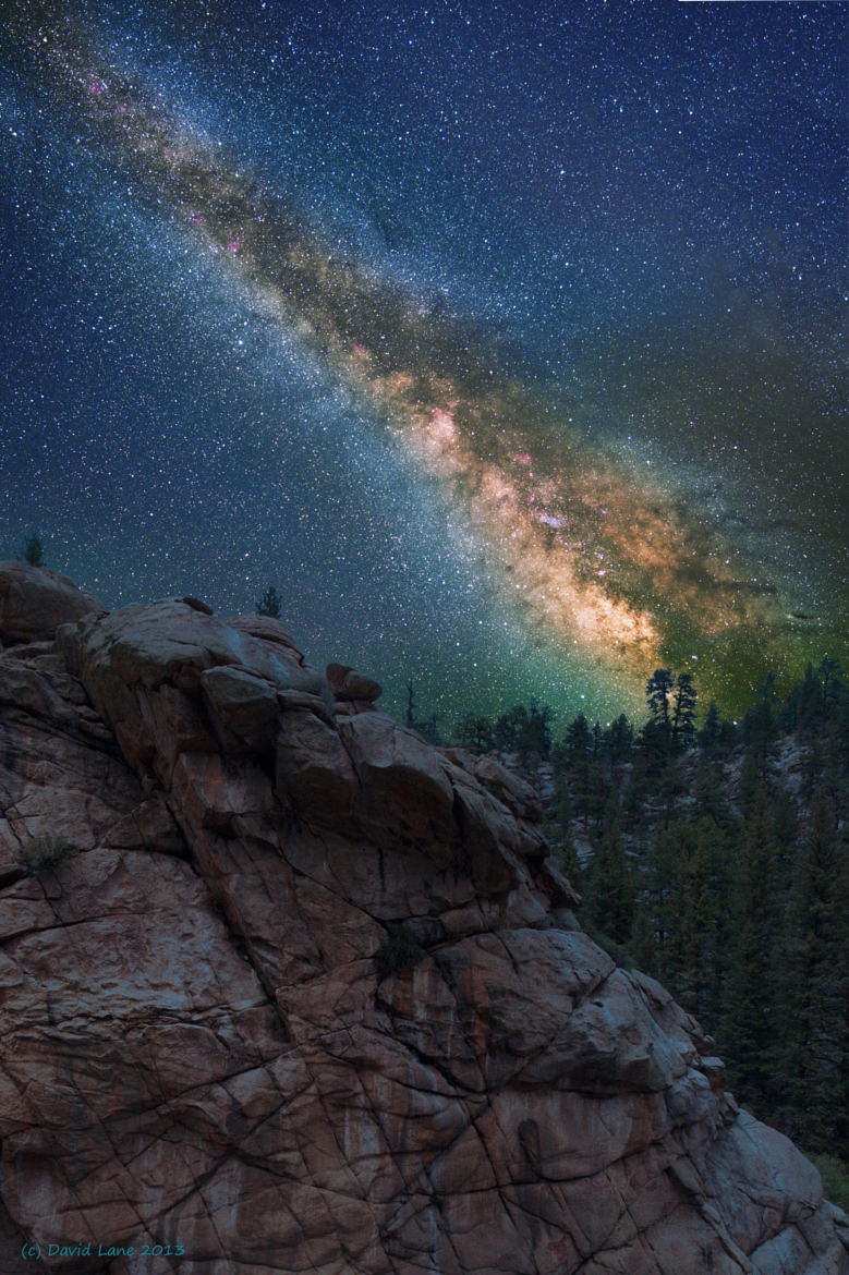 Milky way from Yellowstone Park-44