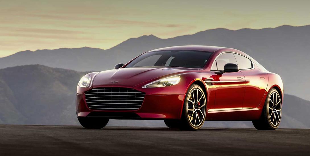 Электрическая Rapide от Aston Martin