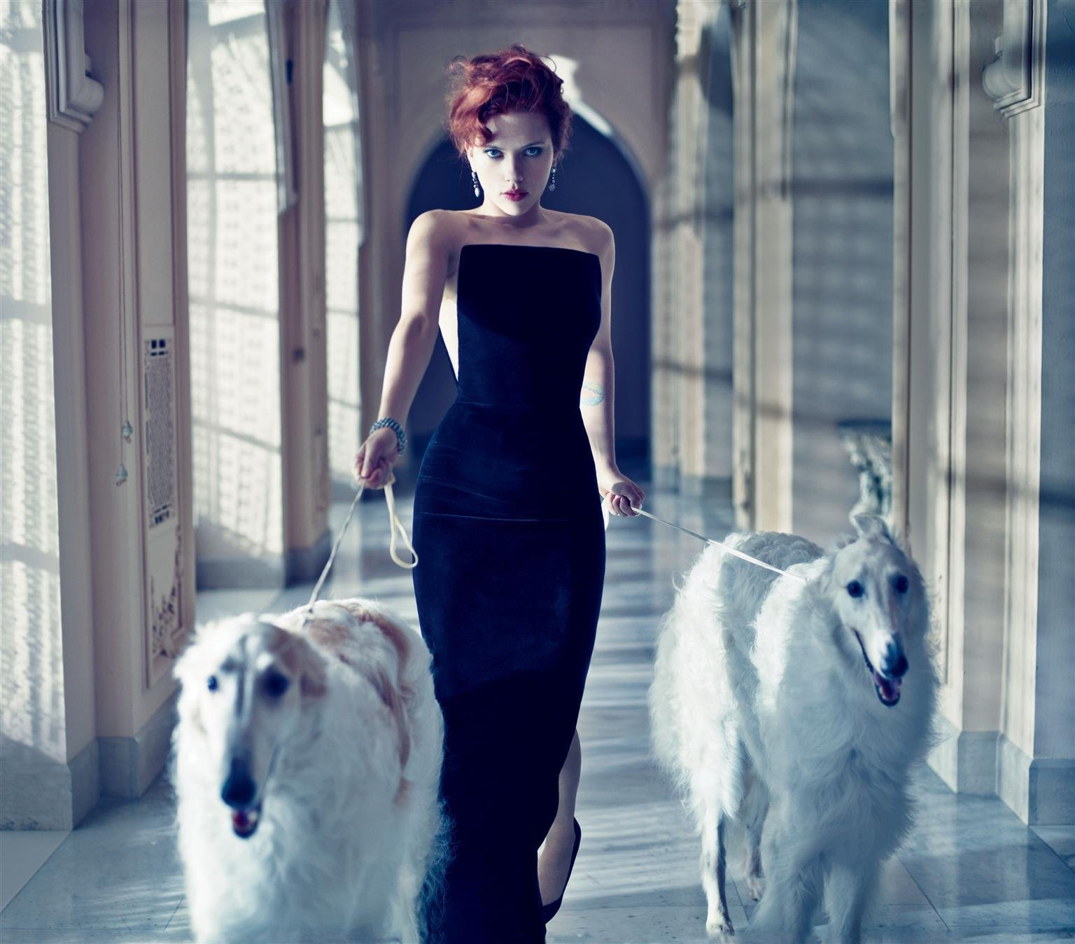 Скарлетт Йоханссон в фотосессии для журнала Vanity Fair