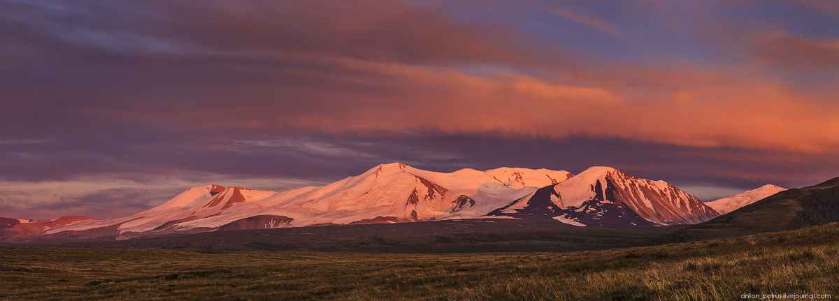 The time of sunset. The Ukok Plateau_09