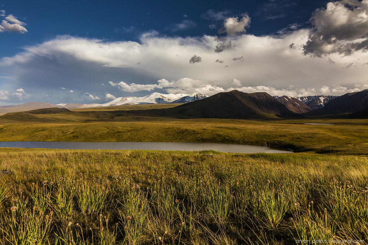The time of sunset. The Ukok Plateau_12