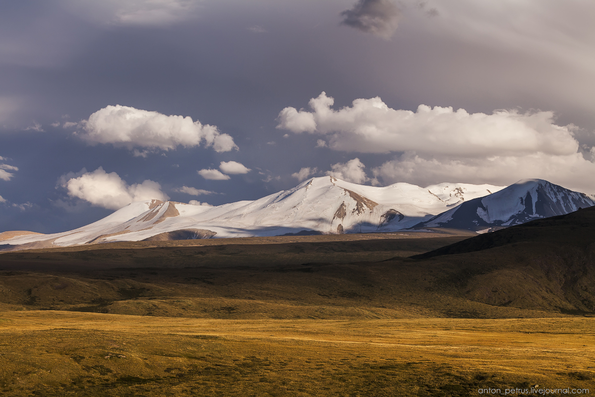 The time of sunset. The Ukok Plateau_13