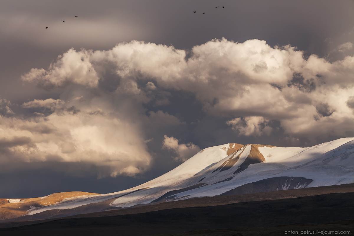 The time of sunset. The Ukok Plateau_14