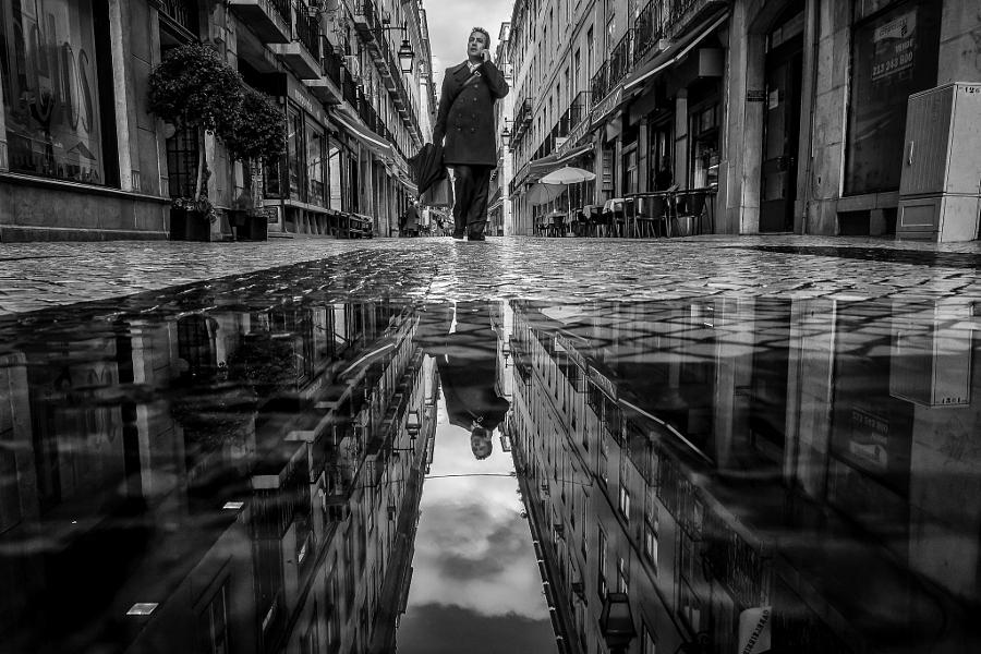 Лучшие уличные фотографии в чёрно-белом цвете на 500px