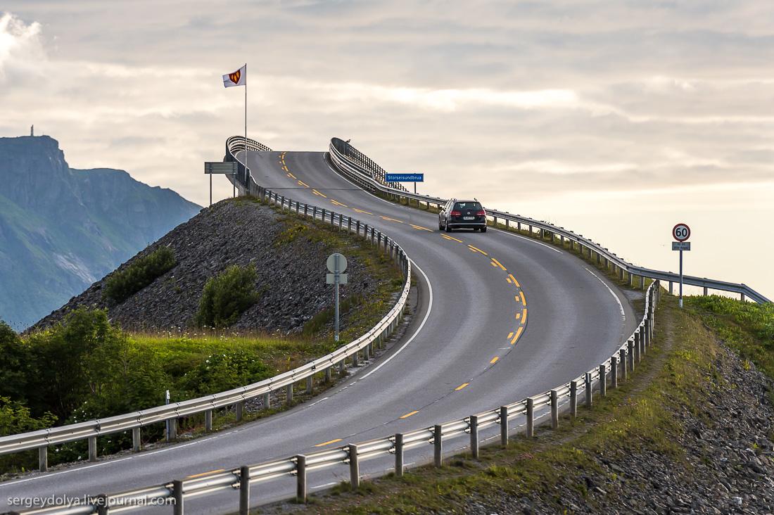 Самая красивая дорога Норвегии. А может быть и Мира