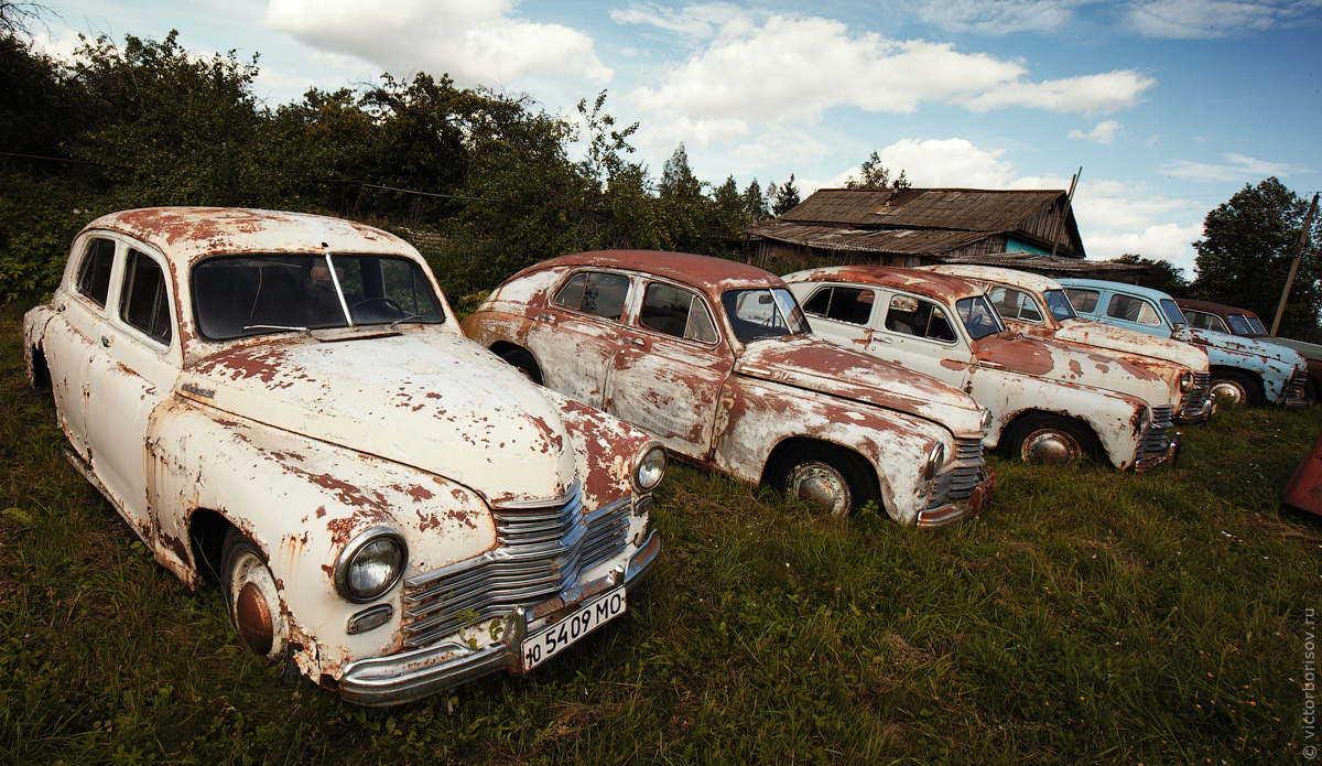 Музей старых автомобилей в Черноусово