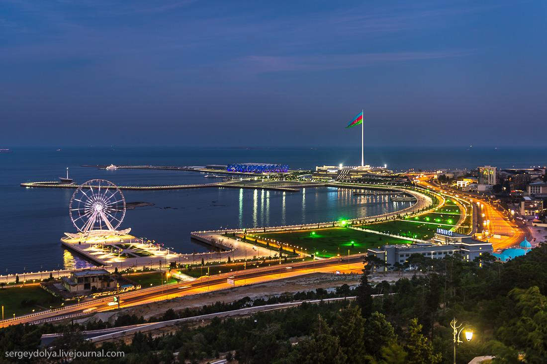 На выходные в Баку!