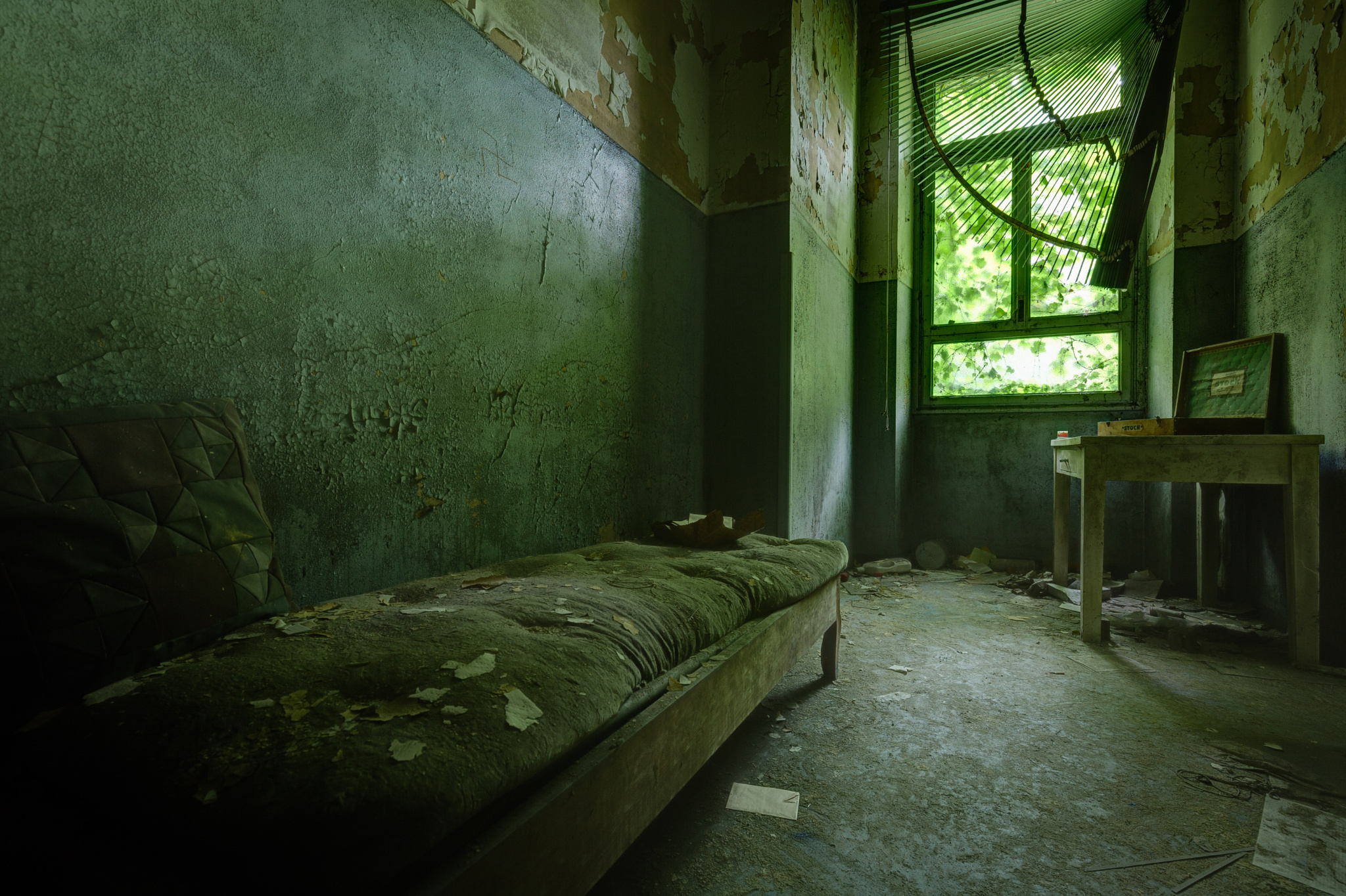 Abandoned psychiatric hospital 05